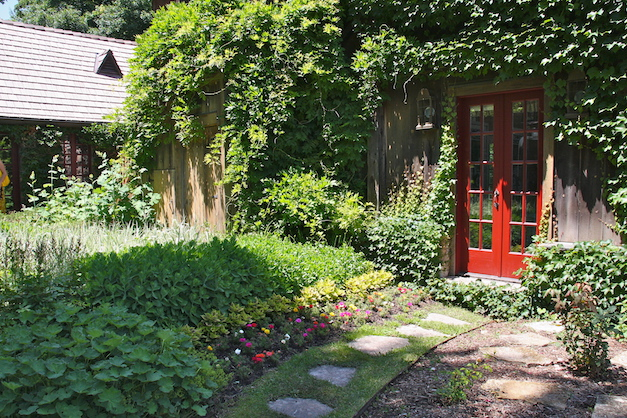 The lush doorway of an Old World Charmer - Photograph courtesy of Laura Scoville Ekstrom