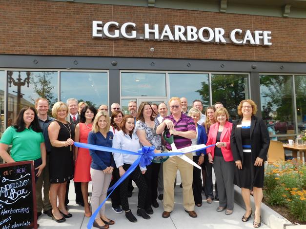 Post - Egg Harbor Cafe Ribbon Cutting