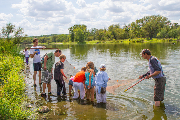 Go Seining with Citizens for Conservation - Photo by Jim Bodkin