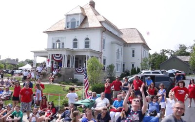 187. VIDEO: Sights & Sounds from Barrington's Sesquicentennial 4th of July Parade