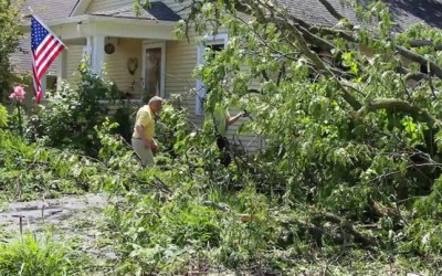 198. VIDEO: Property Owners Clean Up after Damaging Storms Hit the Village of Barrington
