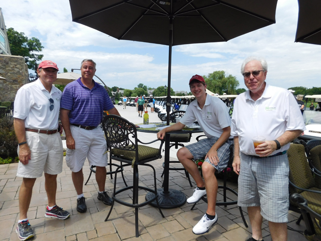 Pictured from left- Keith Hanson (Hanson Law Group), Dana Shourd, Kyle Hanson (Hanson Law Group), Thomas A. Reed