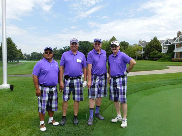 Pictured from left-Ken Kusumoto,Dr. Randy R. Zimmerman (Randy R. Zimmerman, M.D., P.C.), Rich Banbour, Ken Wright