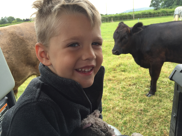 The Gentleman Farmer's Family Goes Glamping at Manor Farm
