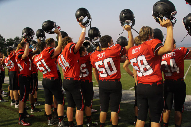 239. VIDEO: Bronco Nation Kicks Off 2015 Football Season with Red & White Scrimmage