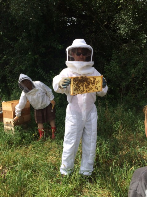 Post - The Gentleman Farmer - Honey Harvest - 4