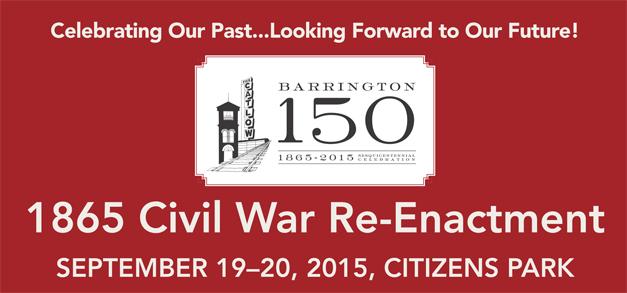 Post - Barrington 150 Civil War Reenactment