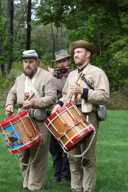 Post - Barrington Sesquicentennial Civil War Reenactment-100