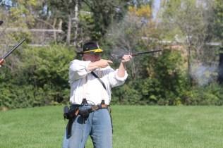 Post - Barrington Sesquicentennial Civil War Reenactment-101