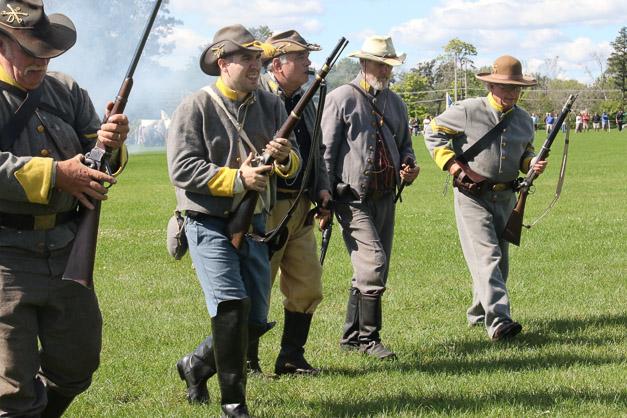 Post - Barrington Sesquicentennial Civil War Reenactment-111