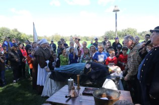 Post - Barrington Sesquicentennial Civil War Reenactment-116
