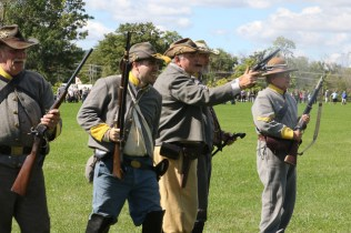 Post - Barrington Sesquicentennial Civil War Reenactment-124