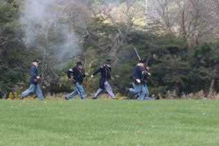 Post - Barrington Sesquicentennial Civil War Reenactment-125