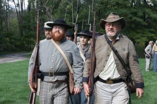 Post - Barrington Sesquicentennial Civil War Reenactment-88