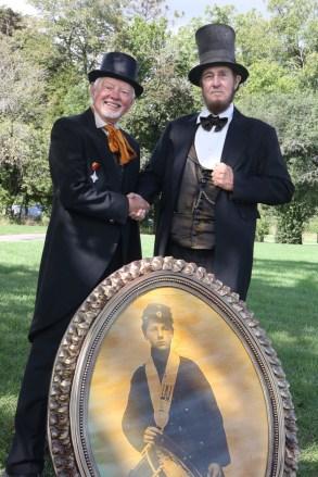 Post - Barrington Sesquicentennial Civil War Reenactment-89
