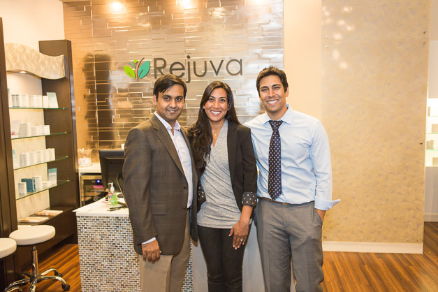 Dr. Atesham Hyder, Dr. Sakina Hyder, and Dr. Zeshan Hyder - Photo by Sally Roeckell