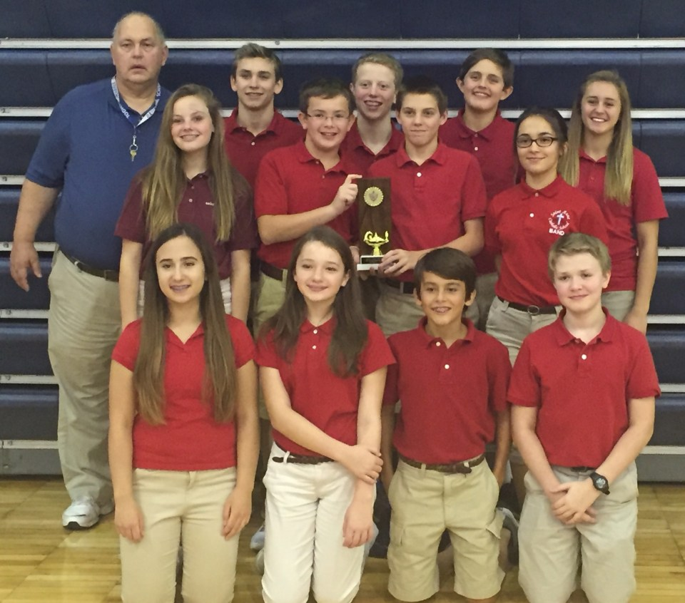 Saint Anne Parish School - Scholastic Bowl Champs at Notre Dame - 2