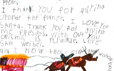 Letters to Santa from Barrington Children