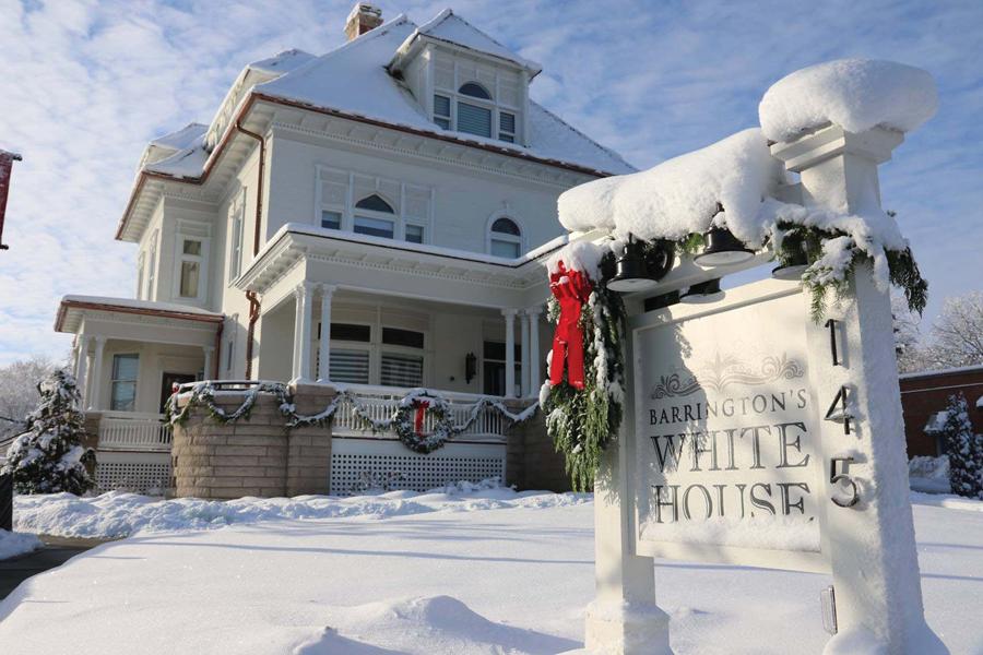 Post - Barrington White House