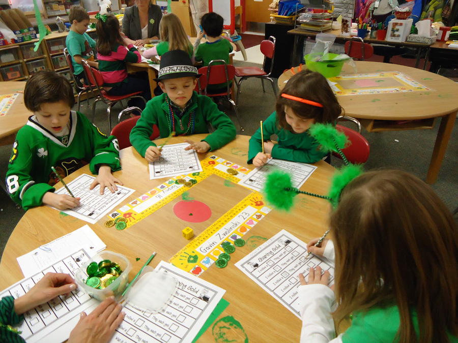 Saint Anne Parish School Kindergartners in the Month of March