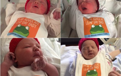 Four Leap Day Babies Born at Advocate Good Shepherd Hospital
