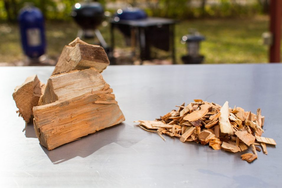 Wood Chips - Photo Courtesy of Weber