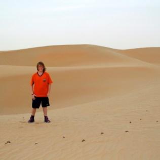 The Al Ain Desert outside of Abu Dhabi, UAE - Julie Beal