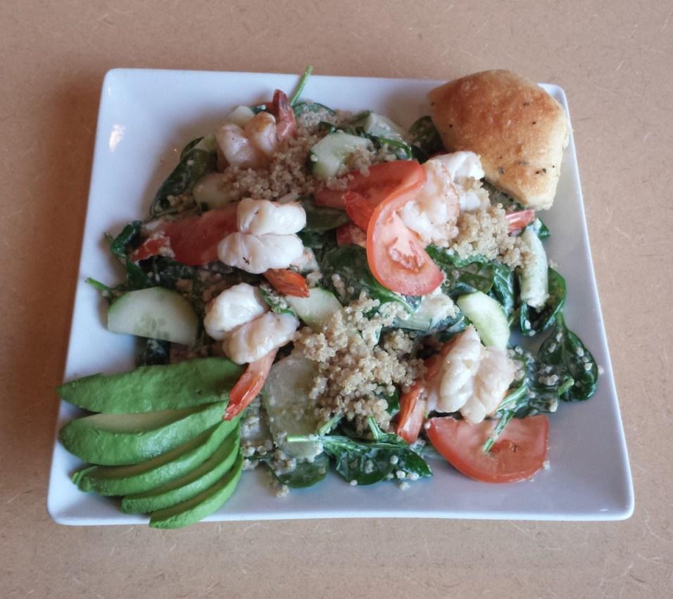 Wool Street's Lime Cilantro Shrimp Salad