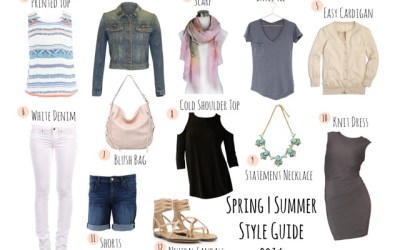 LUXE wearhouse Shares 12 Pieces to Complete Your Spring & Summer Wardrobe