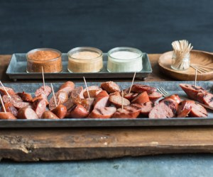 Cooking with Heinen's | Three Sausages with Three Sauces for Your Fall Football Tailgate