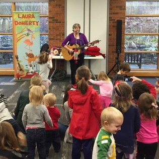 Laura Doherty Performs at the Barrington Area Library
