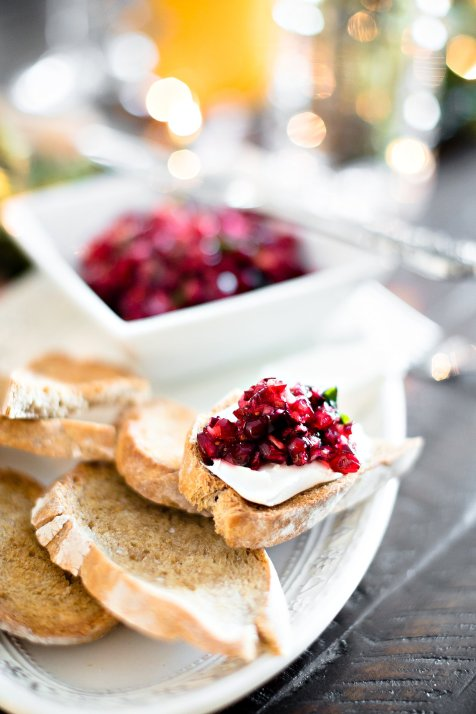 Holiday Brunch Fritatta and Pomegranate Crostini, IL_Modern Farmette_004