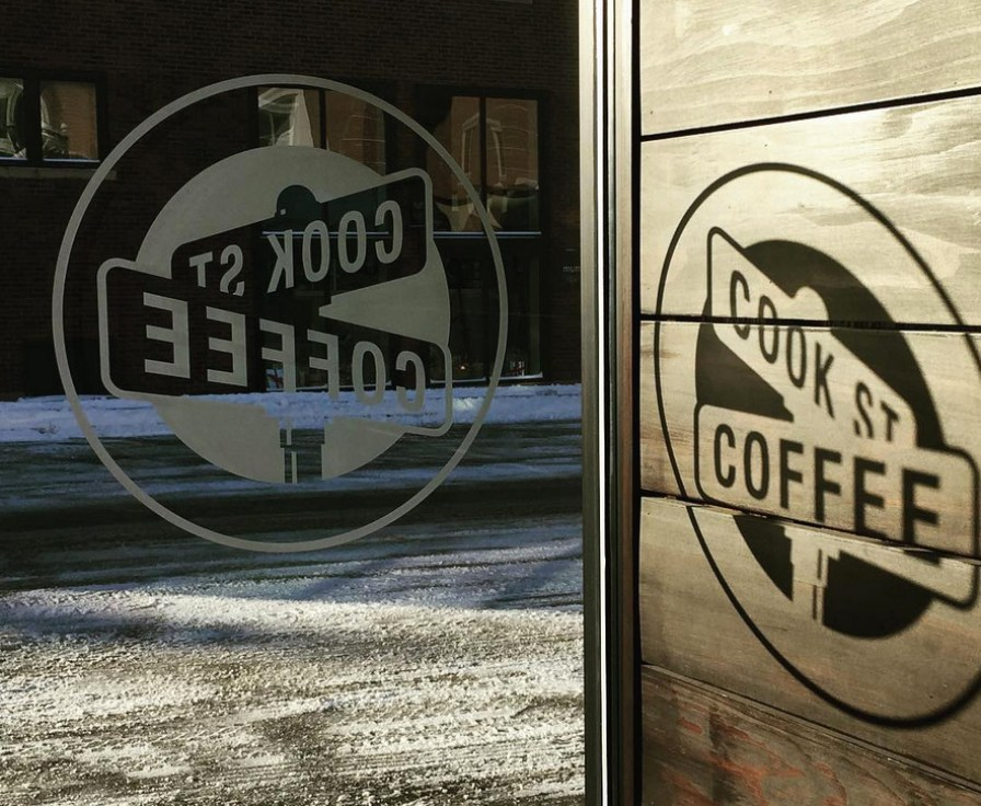 Cold vs. Cozy - Cook Street Coffee
