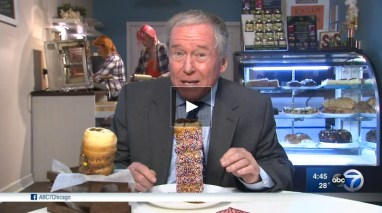 Frank Mathie reports from Heart of Europe Cafe - ABC 7 News