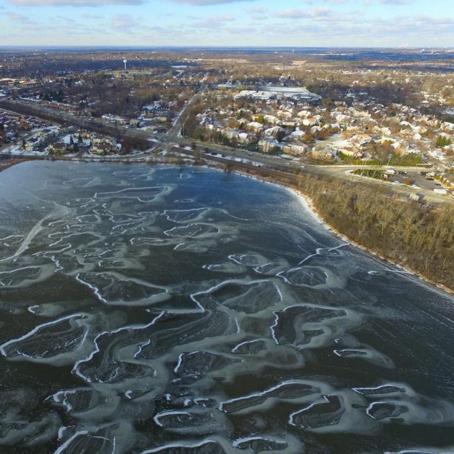 NoonDaily - ScottR116 - Baker's Lake Aerial