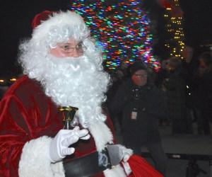 Village of Barrington Lights New Christmas Tree, Welcomes Santa's Return