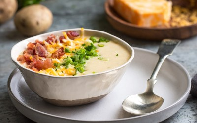 Cooking With Heinen's | Loaded Baked Potato Soup For The Bowl