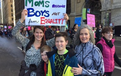 Local Residents Share Why They Joined the Women's March on Chicago