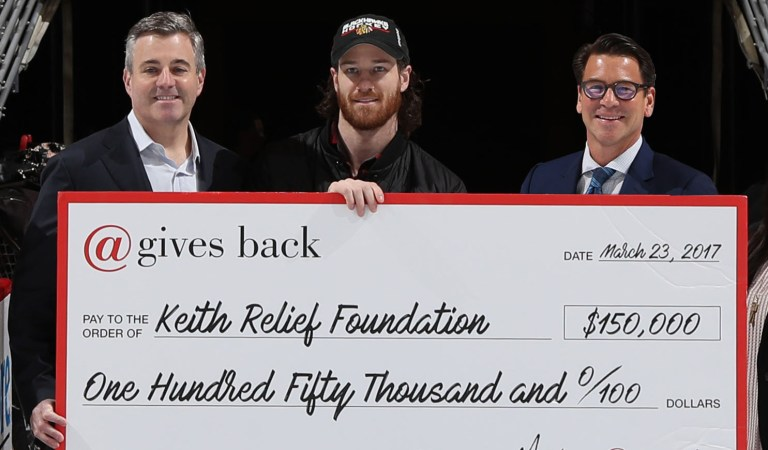 @properties Raises $150K for Chicago Blackhawk, Duncan Keith's 'Keith Relief' Foundation