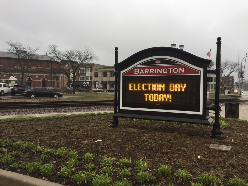 Post - Barrington Election Day - 3
