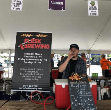 Flesk Brewing at Barrington Brew Fest