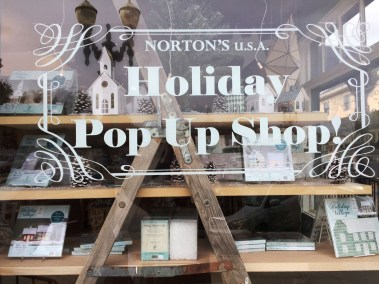 365 - Norton's U.S.A. Holiday Pop Up Shop NOW OPEN in the Village of Barrington
