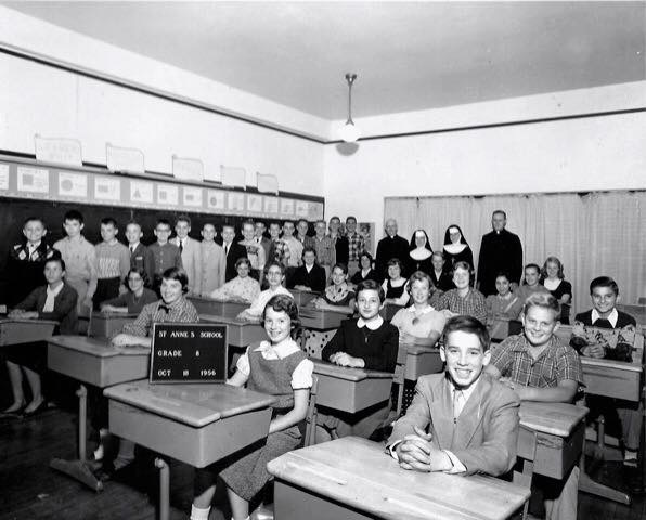 Saint Anne Parish School Barrington - 1956
