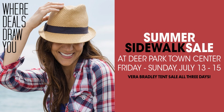 365 - Deer Park Town Center Sidewalk Sale 2018