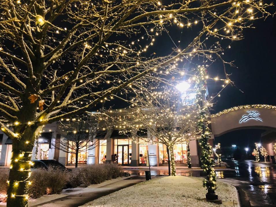 Deer Park Holidays - Snowy Scene