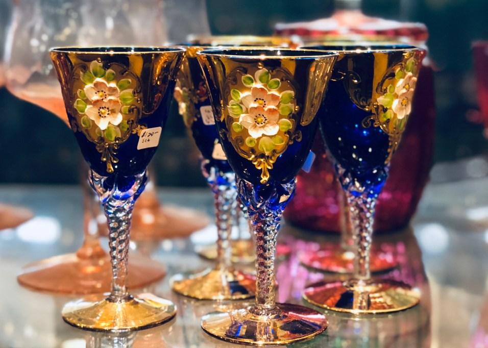 Paris Market Antiques Crystal - 30