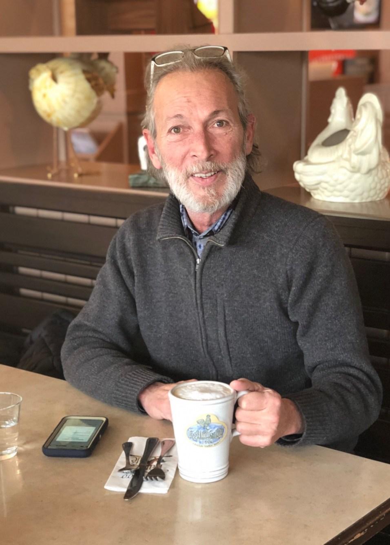 Anthony Oliver at Egg Harbor Café