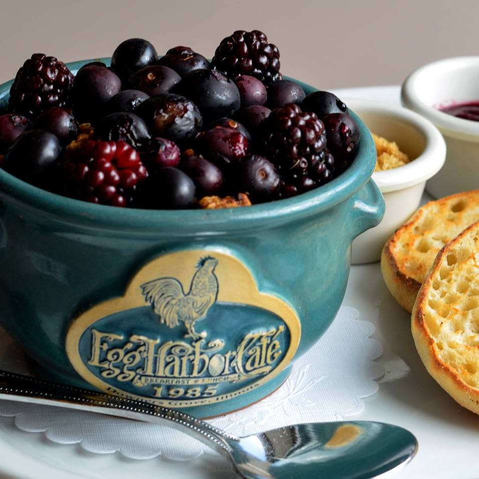 Egg Harbor Café's Berry-Ola Breakfast Bowl