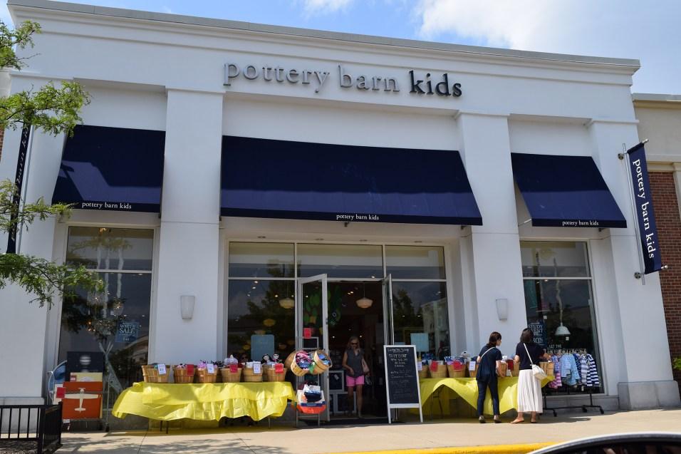365 - Deer Park Town Center Sidewalk Sales - Pottery Barn Kids