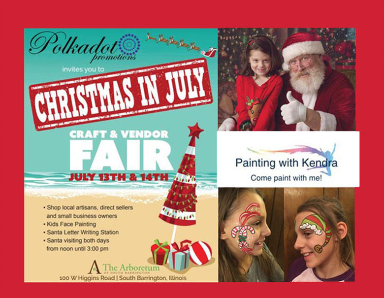 Arboretum of South Barrington Christmas in July